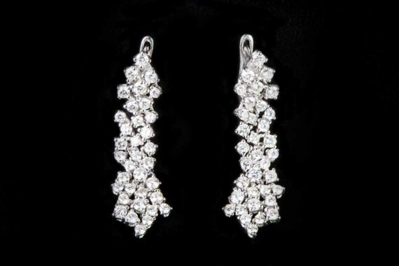 Fantasy diamond earings