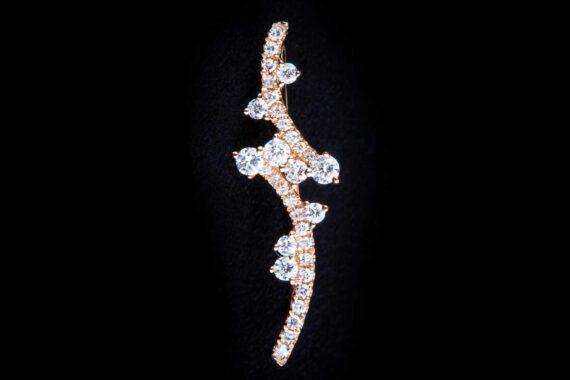 Singls diamonds earring