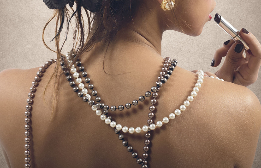 Pearls put the finishing touch to any outfit