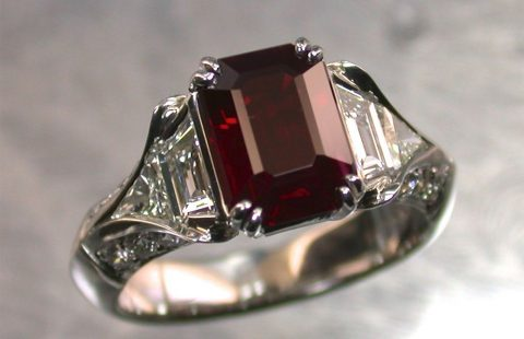 Rubies, Sapphires, and other precious gems